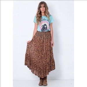 Spell and the Gypsy Safari Maxi Skirt